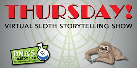 Virtual Sloth Storytelling Show (Free on Facebook) entradas