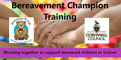 Cornwall Schools Bereavement Champion 2- Part Training Course (Book on both dates) tickets