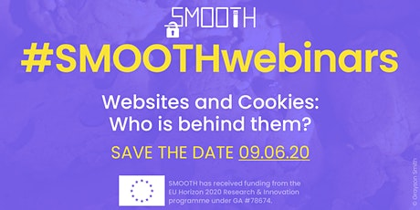 Smooth Webinar 2: Websites and Cookies - who is behind them? Tickets