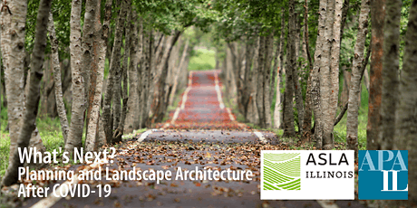 What's Next? Planning and Landscape Architecture After COVID-19 tickets
