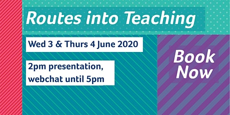 Routes into Teaching online Q&A tickets