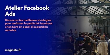 Atelier Facebook Ads - Visioconférence billets