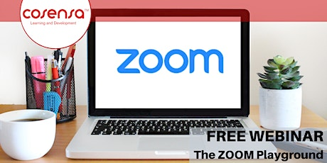The Zoom Playground: An Introduction to Zoom tickets