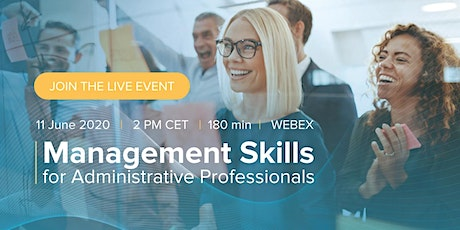 Management Skills for Administrative Professionals tickets