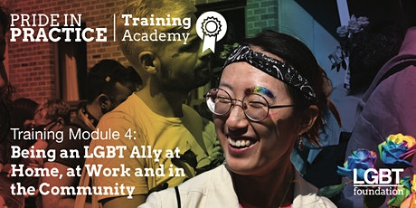 Pride in Practice Training Academy: Being an LGBT ally: Module 4 tickets