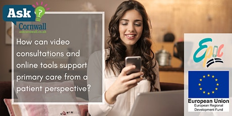 How can video consultations and online tools support primary care? tickets