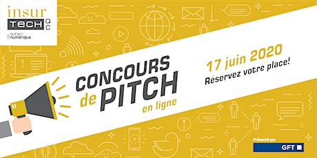 Concours de pitch en ligne - Insurtech QC billets