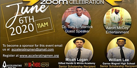 Accelerating Men End of the Year Golden Men Zoom Awards Celebration tickets