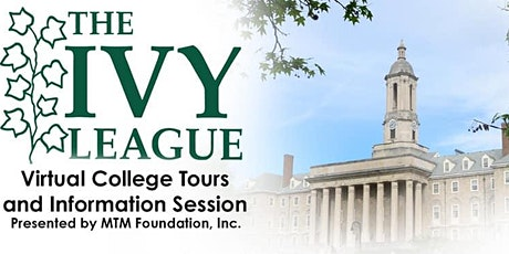 Ivy League Virtual College Tours & More tickets