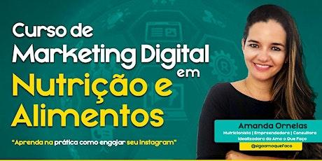 Marketing digital em Nutrição e Alimentos - Grupo bilhetes