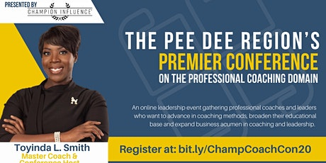 Online: Pee Dee Region's Conference on The Professional Coaching Domain tickets