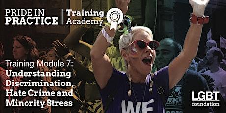Pride in Practice Training Academy: Understanding discrimination: Module 7