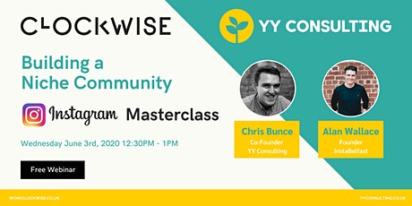 Building a Niche Community. An Instagram Masterclass with YY Consulting tickets