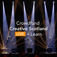 Crowdfund Creative Scotland logo