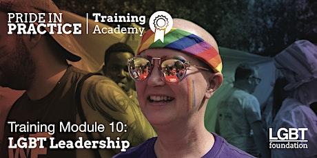 Pride in Practice Training Academy: LGBT Leadership: Module 10