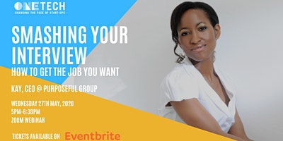 Interview Preparation Workshop with Kay Kukoyi, CEO @ Purposeful Products