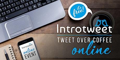 #TweetOverCoffee Online! tickets
