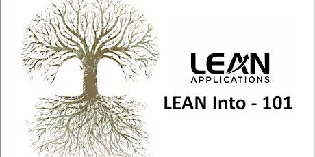 Lean Training - Lean Intro 101 tickets