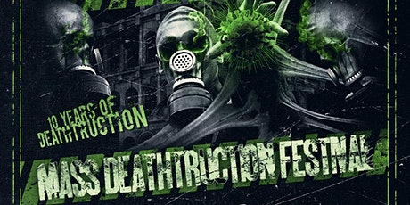 Mass Deathtruction Festival 2020 billets