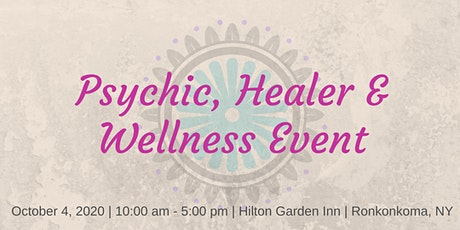 Psychic, Healing and Wellness Expo tickets