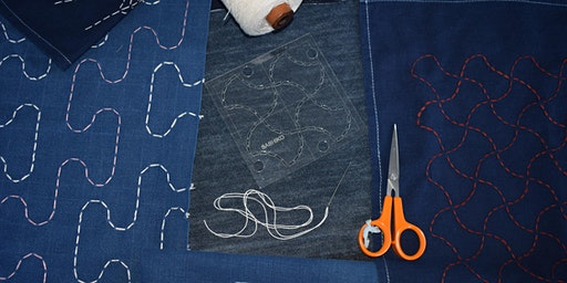 Sashiko Stitching DIY Workshop