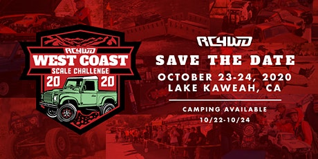 West Coast Scale Challenge 2020 tickets