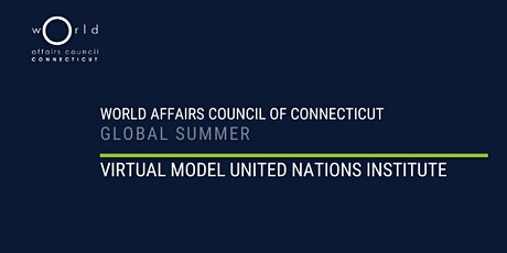 CTWAC Model UN Summer Institute tickets