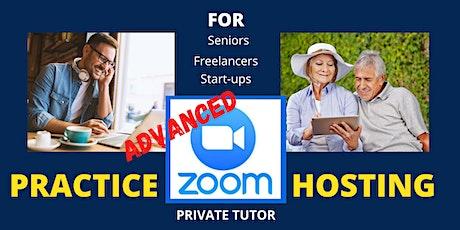 Advanced Zoom  HOST-ing for Senior Professionals,  Freelancers, Start-ups tickets