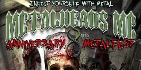 MetalHeads MC 8th Anniversary MetalFest tickets