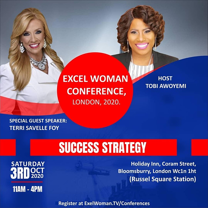 EXCEL WOMAN CONFERENCE, LONDON, 2020 image