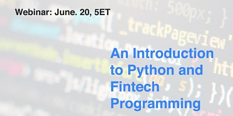 An introduction to fintech programming tickets