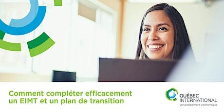 Comment compléter efficacement un EIMT et un plan de transition  billets