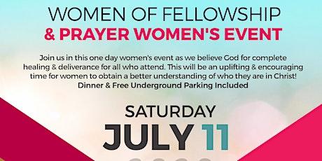 Women of Fellowship & Prayer Women's Event tickets