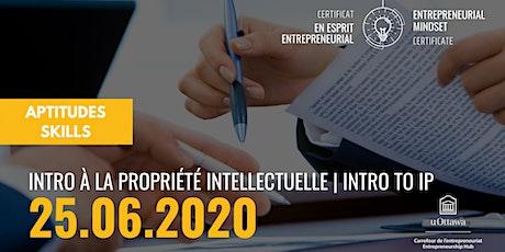 CEE: Introduction à la propriété intellectuelle   EMC: Introduction to IP tickets