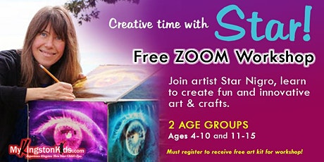 Creative Time With Star Workshop tickets