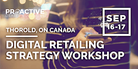 Digital Retailing Strategy Workshop - Thorold, ON tickets