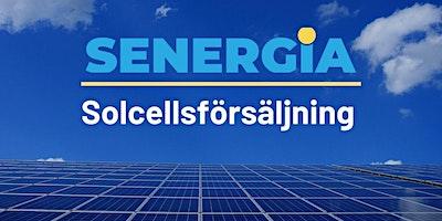 Solcellsförsäljning  introduktionskurs- Stockholm 25-26 augusti