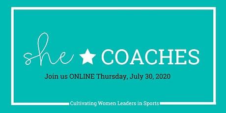 She Coaches Virtual 2020 tickets