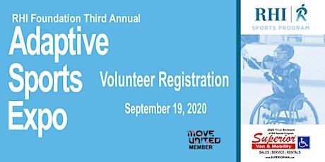 2020 Adaptive Sports Expo Volunteer Registration tickets