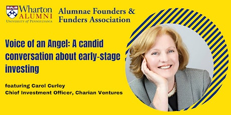 Voice of an Angel: A candid conversation about early-stage investing tickets