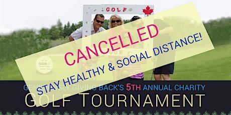 GGB'S 5th Annual Charity Golf Tournament tickets