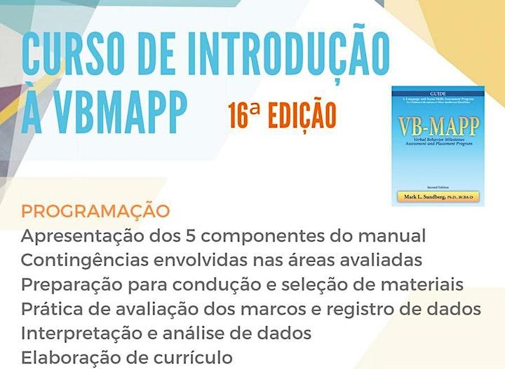 Imagem do evento Curso de Introdução à VB-MAPP