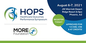 2021 Healthcare Outcomes Performance Symposium