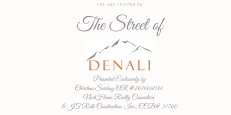 The Street of Denali tickets