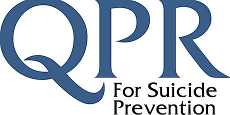 Question, Persuade, Refer - Suicide Intervention Webinar 6.8.20 tickets