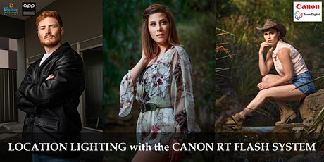 Location Lighting wth the Canon RT Flash System (June 2020) tickets