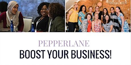 Pepperlane Boost: Led by Nancy Zare & Tamy Liriano tickets
