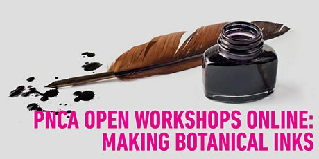 PNCA Open Online Workshops: Making Botanical Ink In Your Kitchen tickets