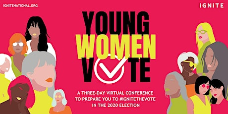 Young Women Vote Virtual Conference  tickets
