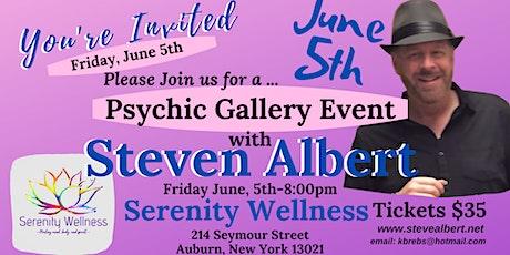 Steven Albert: Psychic Gallery Event - Serenity 6/5 tickets